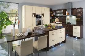 cuisine marron et blanc cuisine marron et taupe beau cuisine taupe et mur eb