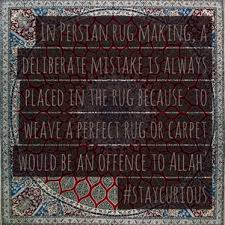 Handmade Iranian Rugs In Persian Rug Making A Deliberate Mistake Is Always Placed In