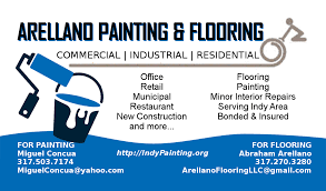 Business Cards Painting About Indy Painting Contractors