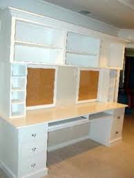 How To Build A Office Desk by Office Hutch Desk Foter