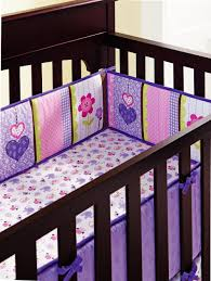 Butterfly Nursery Bedding Set by Purple 3d Embroidery Elephant Owl Bird Baby Bedding Set Include