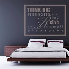 popular thoughtful quotes buy cheap thoughtful quotes lots from waterproof diy wall decals bedroom think big thoughts wall sticker quotes removable home decoration art stickers