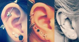 25 awesome ear piercing ideas for your inspiration