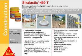 guaina trasparente per terrazzi sica edilizia specializzata