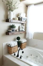 small bathroom shelf ideas ideas for bathroom storage rustic wood for a country home creative