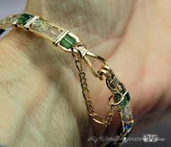 bracelet from chain images How to make a bracelet safety chain jpg