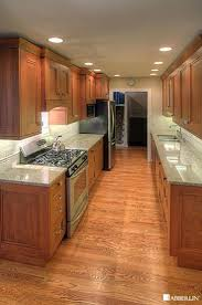 Kitchen Small Galley Kitchen Remodel Small Galley Kitchen Design Ideas With White Cabinet Also Granite