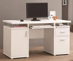 White Computer Desk White L Shaped Computer Desk U2013 Cocinacentral Co