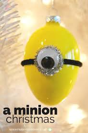a minion diy ornaments spaceships and laser beams