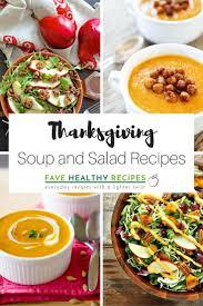 14 fantastic thanksgiving soup and salad recipes