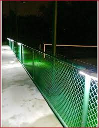 solar lights for chain link fence chain link fence solar lights inspirational lighting for chain