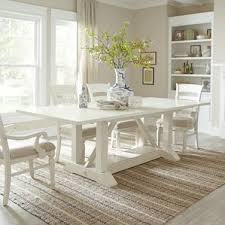 white dining room sets farmhouse dining tables birch