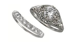 estate engagement rings estate bridal carreras jewelers