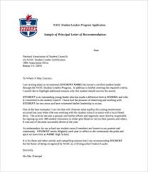 ideas collection letter of recommendation for high student