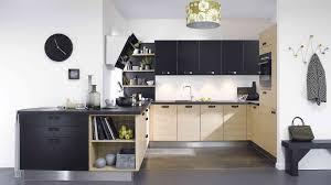 cuisine beige et bois cuisine bois moderne luxe beautiful cuisine beige et noir