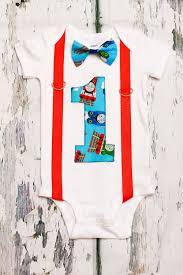 thomas the train theme bow tie and suspenders set boy cake smash