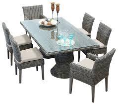 6 seater outdoor dining table stainless steel outdoor dining sets colibri 6 seater westrock within