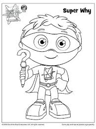 Pbs Sprout Printable Coloring Pages Simple Ideas Super Why Book Sprout Coloring Pages