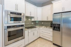 kitchen modern white shaker kitchen wardrobe cabinets wall oven