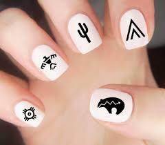 ancient aztec maya nails designs images page 8 of 8 nail art