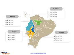 Blank Map Of South Africa Provinces by Free Ecuador Editable Map Free Powerpoint Templates