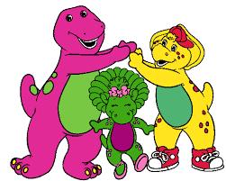 barney friends clip art images cartoon clip art