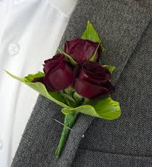 burgundy roses burgundy boutonniere buttonholes 17 99 free chocolates