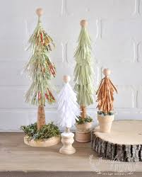 recycled paper fringe trees jennifer rizzo