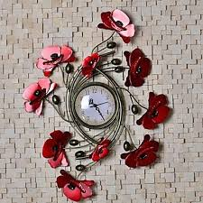 Metal Flower Wall Decor - colorful metal flower wall art decor indoors cheerful cart