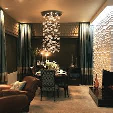 Lighting A Kitchen And Dining Room Contemporary Bubble - Chandelier dining room