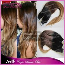 russian hair extensions new arrival ombre three tone color invisible cheap russian hair