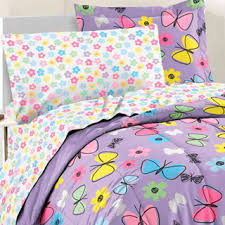 Girls Bed In A Bag by Sweet Butterfly 7 Piece Bed In A Bag With Sheet Set Overstock