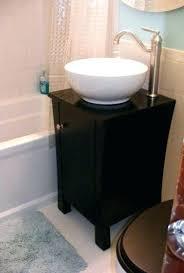 18 Inch Bathroom Vanities Wade Logan Tenafly 18 Single Wall Mount Modern Bathroom Vanity 18