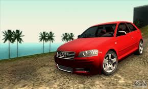 audi a3 mods audi a3 tunable for gta san andreas