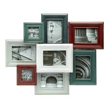 Christmas Tree Picture Frames 8 Opening Colored Wood Collage Frame Christmas Tree Shops Andthat
