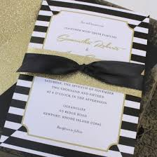 black and gold wedding invitations kate spade wedding invitation archives serendipity