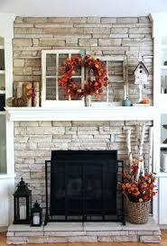 Chimney Decoration Ideas Thanksgiving Fireplace Mantel Decoration Fall Decor Decorations