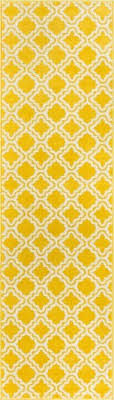 Yellow Runner Rug Starbright Calipso Yellow Rug Well Woven