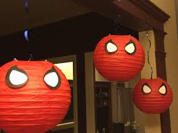 diy spiderman paper lanterns take that pinterest pinterest