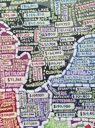 Show Me A Map Of Connecticut Paula Scher U0027s Hand Painted Semi Accurate Maps Of America Citylab