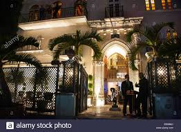 landscape lighting south florida versace u0027s house ocean drive miami south beach florida usa stock