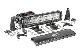 4x4 Led Light Bars by 12 Inch Cree Led Light Bar 70912 Rough Country Suspension Systems