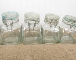 vintage candy jar etsy
