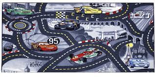 Kids Race Track Rug by Disney Pixar Cars Kids Children U0027s Play Mat Race Car Rug Runner Non
