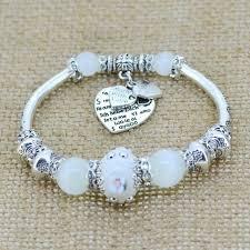 love hearts charm bracelet images Silver plated love heart charm bracelet shopbng jpg
