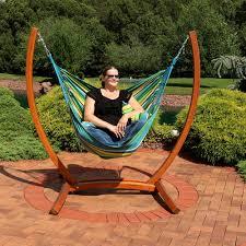 Tree Hanging Hammock Chair Sunnydaze Hanging Hammock Chair Swing With Sturdy Space Saving