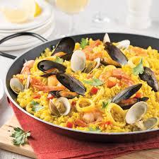 paëlla traditionnelle aux fruits de mer recettes cuisine et