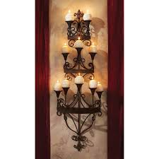 Wall Chandelier Design Toscano Carbonne Candle Chandelier Wall Sconce Reviews