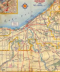 map of cleveland map of cleveland my