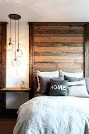 hauteur applique murale chambre le tete de lit une chambre a coucher rustique moderne a tate de